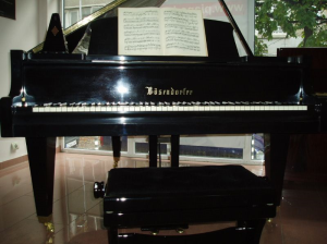 Repair of used pianos and grand pianos